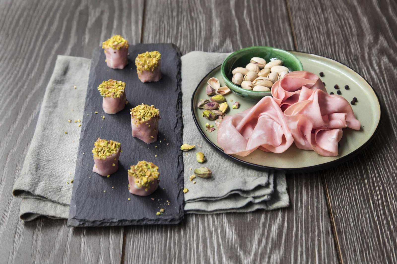 Finto sushi all'emiliana con MORTADELLA BOLOGNA IGP