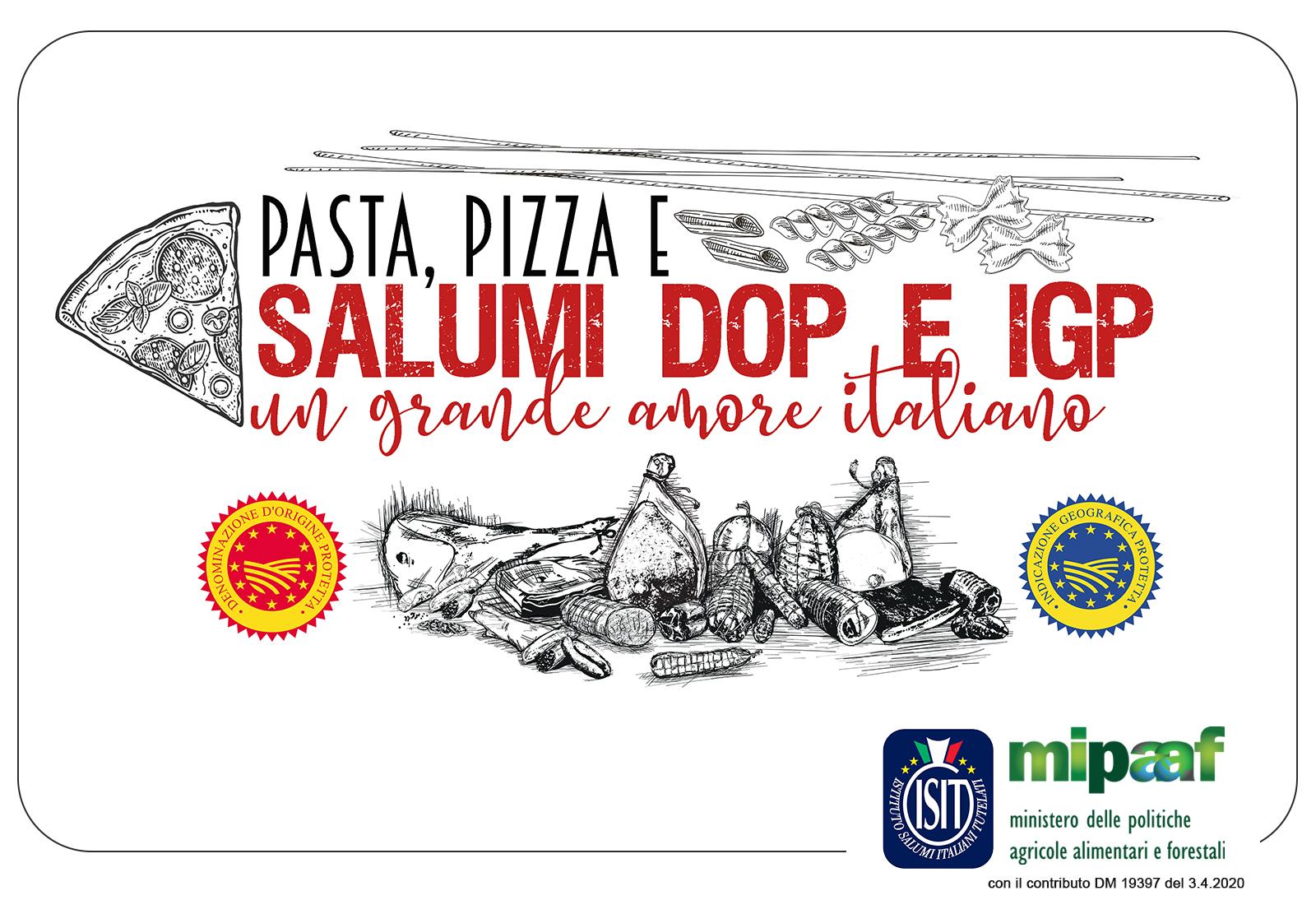 UN GRANDE AMORE ITALIANO   PASTA, PIZZA E SALUMI DOP & IGP