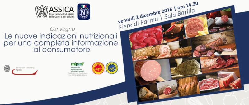 Convegno ISIT ASSICA: le nuove indicazioni nutrizionali per una completa informazione al consumatore