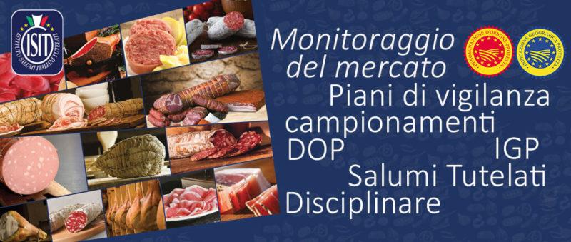 Attività di monitoraggio del mercato – Salumi DOP IGP
